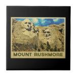 Vintage del monte Rushmore Teja Ceramica
