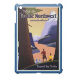 Vintage del noroeste pacífico de la visita