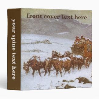 """Vintage del oeste, porqué el correo era atrasado carpeta 1 1/2"""""""