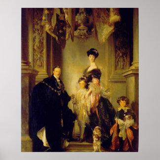 Vintage del palacio de Blenheim Impresiones