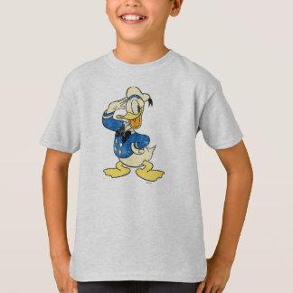 Vintage del pato Donald el   Playera