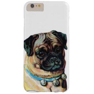 Vintage del perro del barro amasado funda de iPhone 6 plus barely there