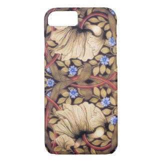 Vintage del Pimpernel de William Morris floral Funda iPhone 7