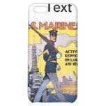 Vintage del poster de los infantes de marina WWI d