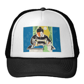 Vintage del sastre de la modista de la costurera gorras de camionero