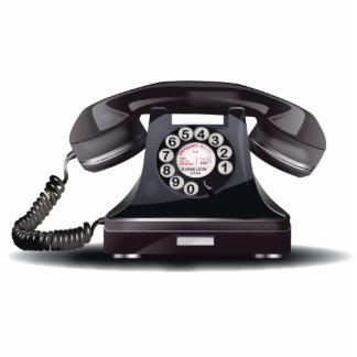 Vintage del teléfono escultura fotografica