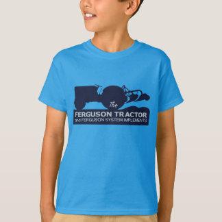 Vintage del tractor de Ferguson que camina a niños Playera