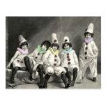 Vintage del traje del carnaval de los niños de Kin Postal