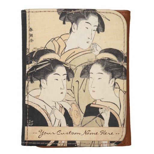 Vintage del ukiyo-e del shunsho del katsukawa de t