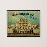 Vintage del Washington DC Rompecabezas