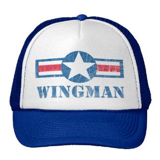 Vintage del Wingman Gorra