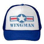 Vintage del Wingman Gorro De Camionero