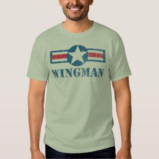 Vintage del Wingman Playera