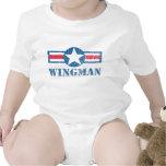 Vintage del Wingman Traje De Bebé