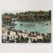 Vintage Delaware Park Buffalo NY Large Puzzle