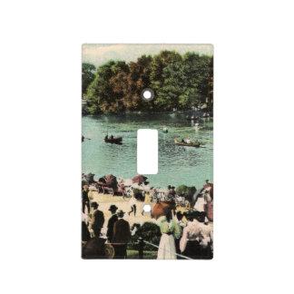 Vintage Delaware Park Lake Light Cover