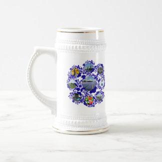 Vintage Delftware/ Delft Blue Style Holland Stein