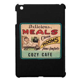 Vintage Delicious Meals Clean Rooms Home Comforts Cover For The iPad Mini