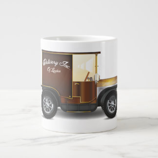 Vintage Delivery Van Giant Coffee Mug