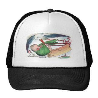 Vintage Delivery Via Stork Trucker Hat