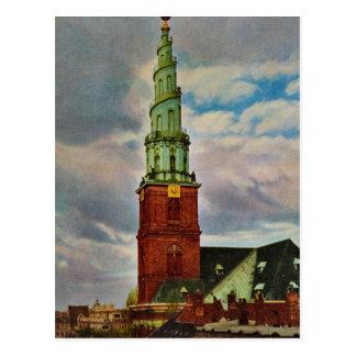 Vintage  Denmark, Copenhagen, Our Saviour's Church Post Cards