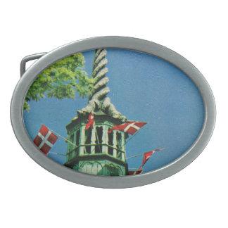 Vintage  Denmark, Copenhagen Stock Exchange, Belt Buckles