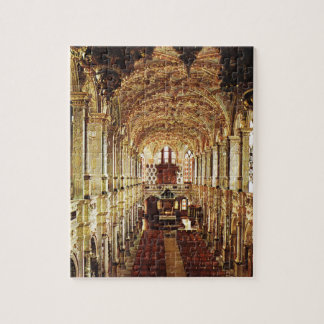 Vintage  Denmark, Frederiksburg Castle,Chapel Jigsaw Puzzle