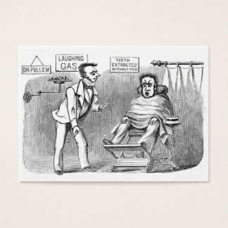 Vintage Dentist, Extracting teeth without pain! :) Business Card