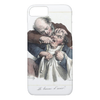 Vintage Dentist Tooth Extraction iPhone 8/7 Case
