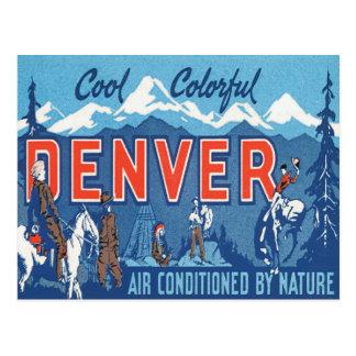 Vintage Denver Colorado Postal