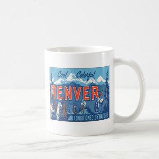Vintage Denver Colorado Taza De Café