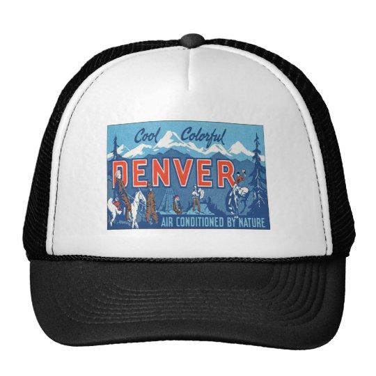 Vintage Denver Colorado Trucker Hat