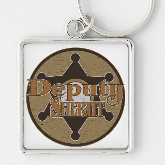 Vintage Deputy Sheriff Keychain