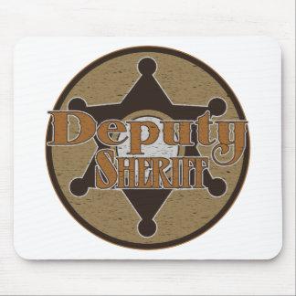 Vintage Deputy Sheriff Mouse Pad