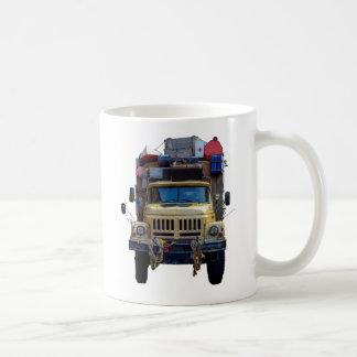 Vintage Desert Expedition Truck Coffee Mug