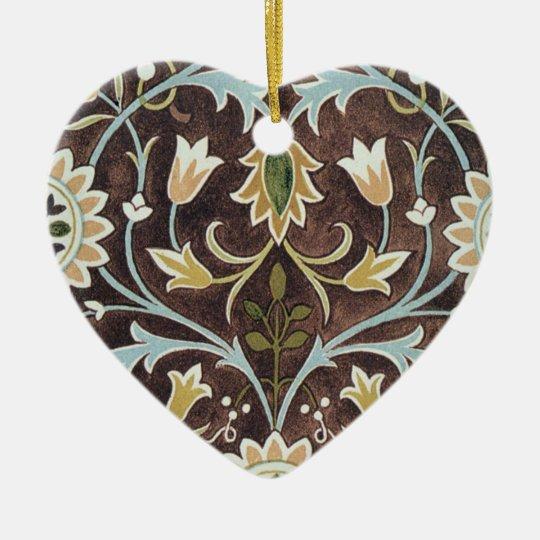 Vintage Design Ceramic Ornament