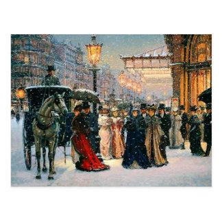 Vintage Design Customizable Christmas Postcards
