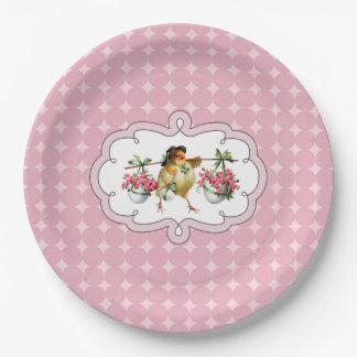 Vintage design Easter Brunch | Party Paper Plates