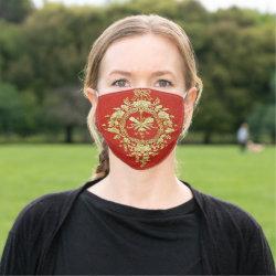 Vintage Design Face Mask