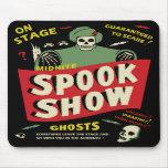 Vintage Design - Midnight Spook Show Mousepad