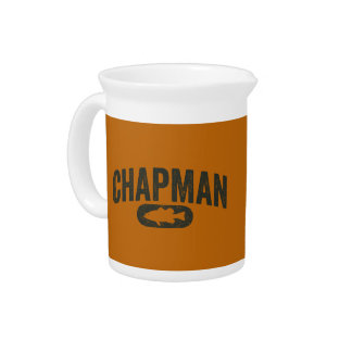 Vintage Design Orange - Chapman Bass Fishing Pitchers