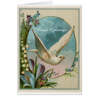 Vintage Design Religious Easter Greeting Card