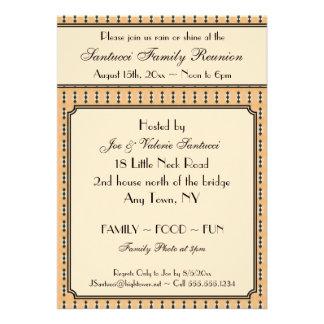 Vintage Design-Reunion, Event, Party Invitation