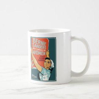Vintage Design White 11 oz Mug Women for Bernie