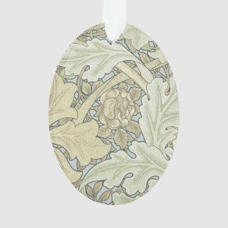 Vintage Designer Art Nouveau Floral Pattern Ornament