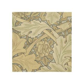Vintage Designer Art Nouveau Floral Pattern Wood Prints