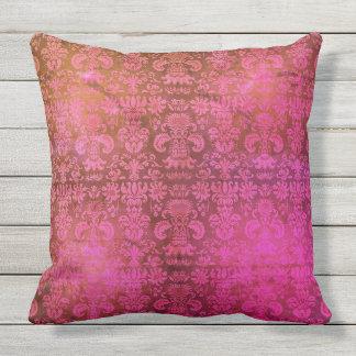 """Vintage Designs"" BerryLicious_Damask(c) Precious_ Outdoor Pillow"