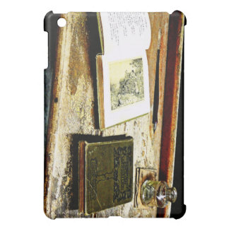 Vintage Desktop - Student Desk iPad Mini Covers