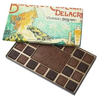 Vintage Dessert Ad 1896 45 Piece Box Of Chocolates