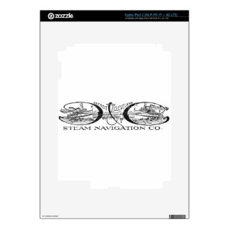Vintage Detroit & Cleveland Steam Navigation Co iPad 3 Decals